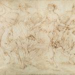 Valerio castello disegno danzatrici