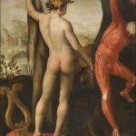 Apollo e marsia dipinto sciorina